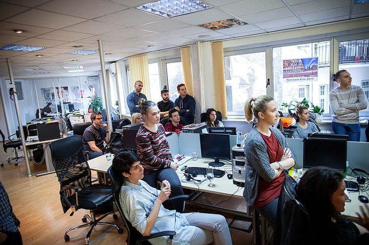 Proffcom besøkte Novicom i Beograd. Vår fjerde avdeling
