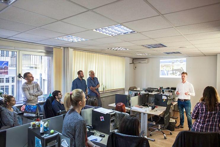 Proffcom besøkte Novicom i Beograd. Vår fjerde avdeling. Rune Lonkemoen