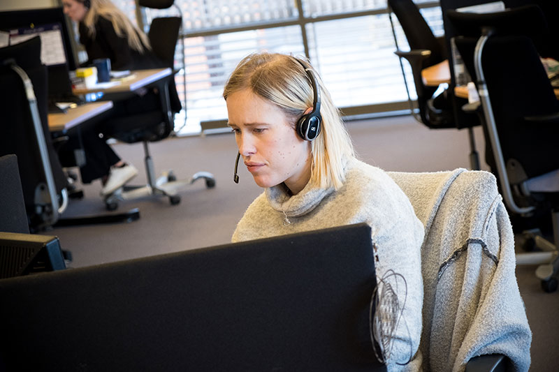 en kundeservicemedarbeider trenger å inneha et visst antall ferdigheter for å kunne levere god service, hver eneste dag