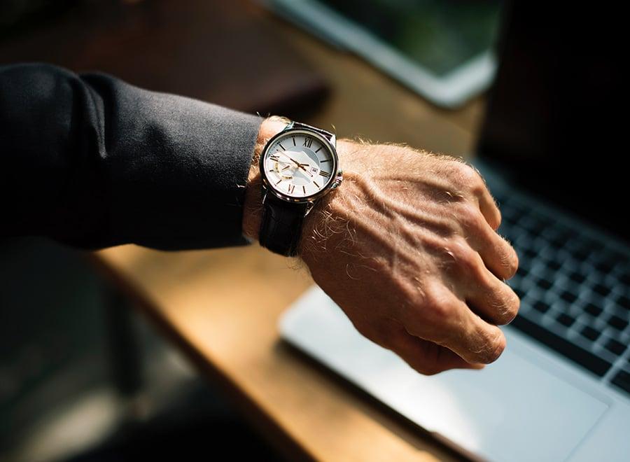 ved å gi kunden et estimat på ventetid kan du unngå mye sure tilbakemeldinger