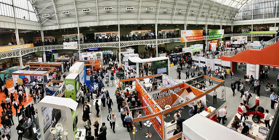 Ecommerce expo på Kensington Olympia i London. ProffCom deltok