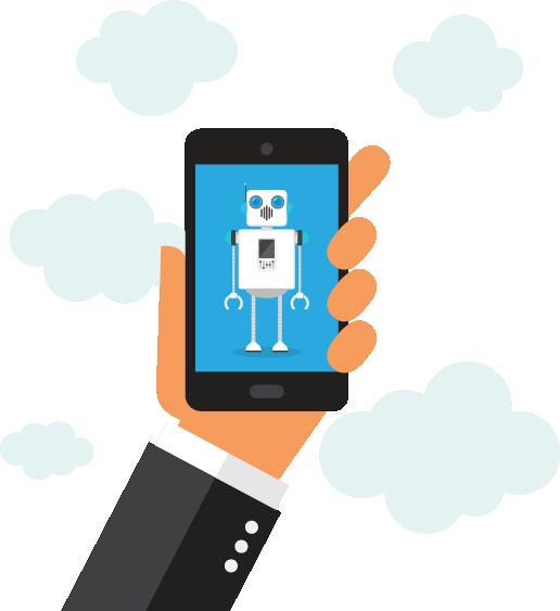 chatbots kan benyttes til å kommunisere med dine kunder på en effektiv og økonomisk måte