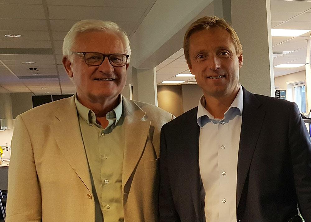 Svein Rasmussen i proffCom og Carsten Gunarstorp i NORDMA har tett dialog vedrørende revisjon av markedsføringsloven