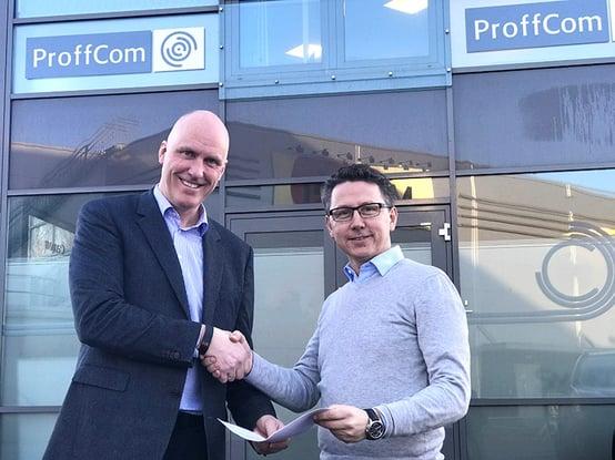 Proffcom og novicom inngikk avtale i januar 2017