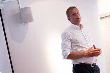 Carsten Gunnarstorp i NORDMA gikk igjennom tiltak og konsekvenser av GDPR