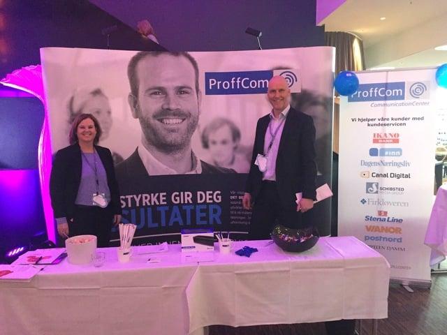 ProffCom deltar på kundeservicedagene 2017.